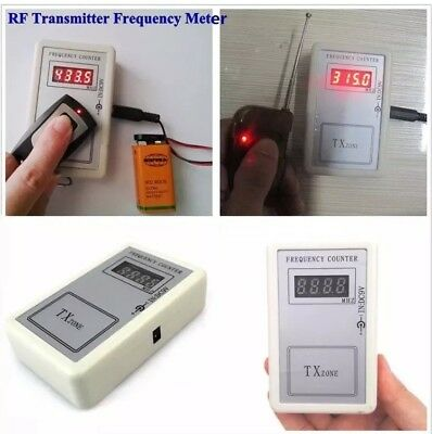 9V Frequency Detector Tester Counter For Auto Car Key Fob Remote Control +Cable