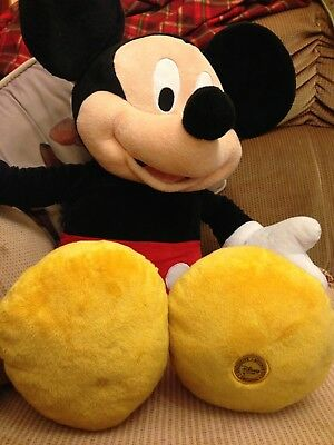 Large Disney Mickey Mouse excellent condition
