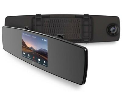 YI Mirror Dash Cam, Dual Dashboard Camera Recorder with Touch Screen NEW USA