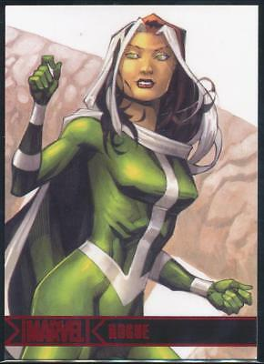 2012 Marvel Greatest Heroes Trading Card #62 Rogue