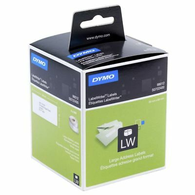 3 x Dymo SD99012 / S0722400 Labelwriter Large Address Paper Labels 36mm x 89mm