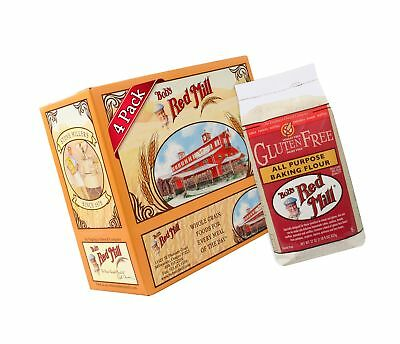 Bobs Red Mill Gluten Free All-Purpose Baking Flour, 22-ounce (Pack of 4)