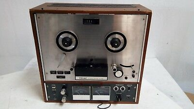 Teac Automatic Reverse A-4010S Reel-to-Reel Tape Player [Vintage]