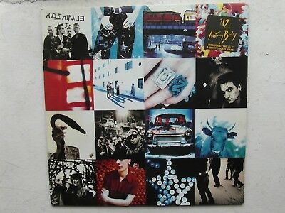 U2 Achtung Baby Original Vinyl LP Naked Sleeve Signed From Your Loving son Adam