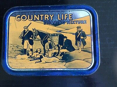 """Player's  """" Country Life """"  Tobacco tin"""