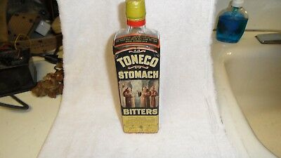 Probably The Best Lash,s -**toneco Labeled Bitters Bottle In Existence-**