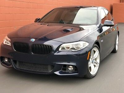 2014 BMW 5-Series 550i M-Sport + Individual 2014 BMW 550i M-Sport Individual 27k miles Blue/Brown Immaculate Condition Clean