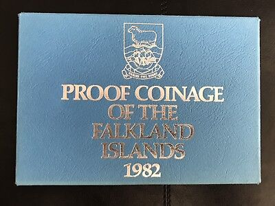 Falkland Islands 1982 proof set