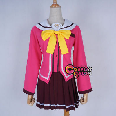 Anime Lovely Skirt Uniform Party Maid Cosplay Costume Set