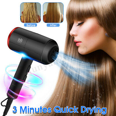 2000W Electric Salon Hair Dryer Low Noise Powerful Blower Dry Adjustable Speed