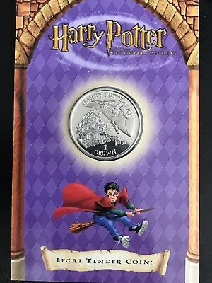 Isle of Man crown 2002 Harry Potter UNC
