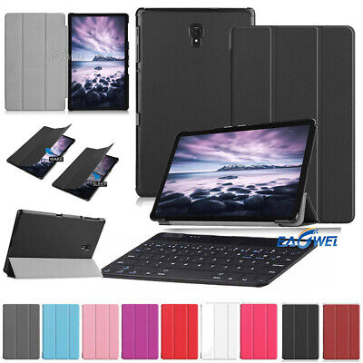 """AU For Samsung Galaxy Tab A 10.5"""" 2018 T590 Tablet Keyboard Leather Case Cover"""