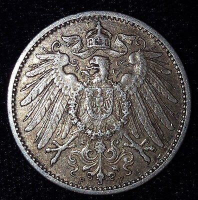 1907-F, 1 Mark from Germany. No Reserve!!!