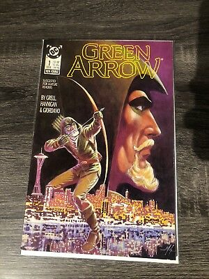 Green Arrow 1 Volume 2 VF/NM (9.0) Copy 1st Appearance Of Annie Green