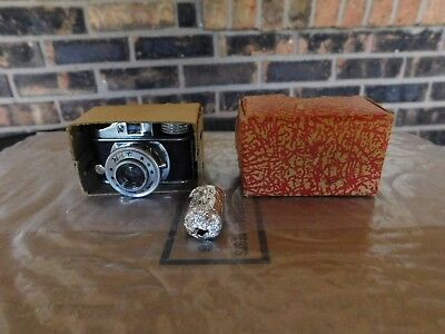 "Vintage 1950's Sub Miniature HIT ""Spy"" Camera With Box and film"