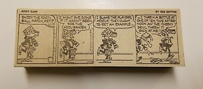 ANDY CAPP by Reg Smythe 220+ daily comic strips from 1972.