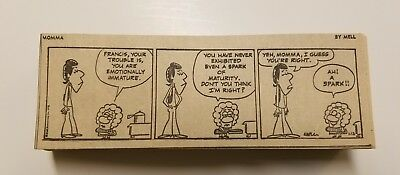 MOMMA by Mel 220+ daily comic strips from 1972.