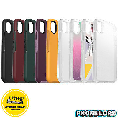 Genuine OtterBox Symmetry case cover iPhone X/XS heavy duty tough Shock Proof