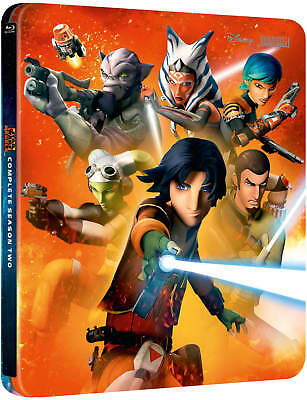 Star Wars Rebels Complete Season Two (Blu-Ray) STEELBOOK EDITION! BRAND NEW!