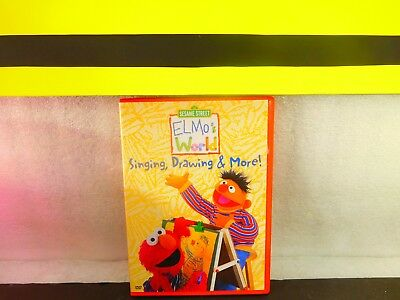 Elmos World Singing Drawing More On Dvd 3 30 Picclick