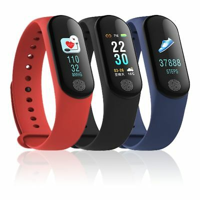 """2018 New M3 PLUS 0.96"""" OLED Touch Smartband Sport Fitness Tracker IP67"""
