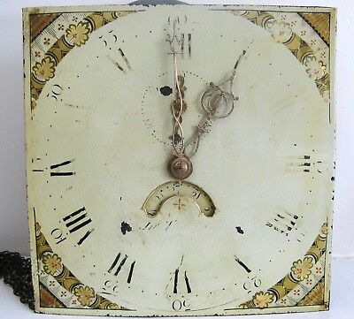 Grandfather Dial & Movement - Thackwell of Cardiff - Circa 1800