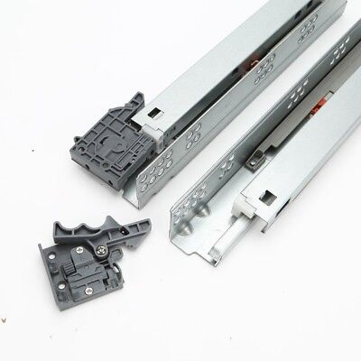 Kitchen / Bedroom Concealed Undermount Drawer Runners Slide / Full Extension