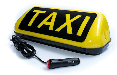 -B Ware- Taxi Magnet Dachschild LED Taxi Dachzeichen Roof Sign 12V
