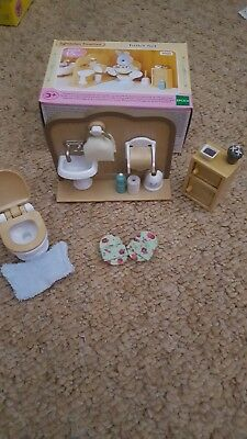 Sylvanian Families Toilet set excellent condition