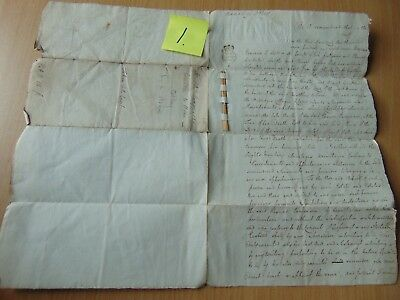 Ink Dip Pen Deed Indenture Manuscript 1787 Manor Of Otley By A Straw Eamonson