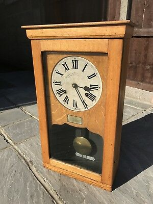 Large 'National Recorder Limited' Vintage Wall Clock