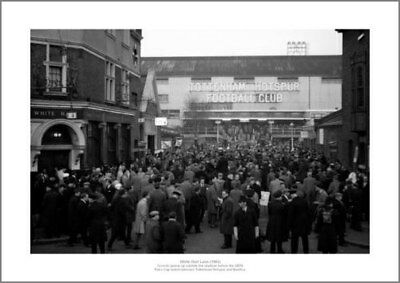 Tottenham Hotspur White Hart Lane Stadium 1962 Photo Memorabilia (049)