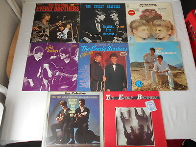 The Everly Brothers - Sammlung 10 LP's