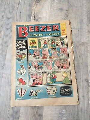 The Beezer comic - Issue 420 - cover date 1st February 1964