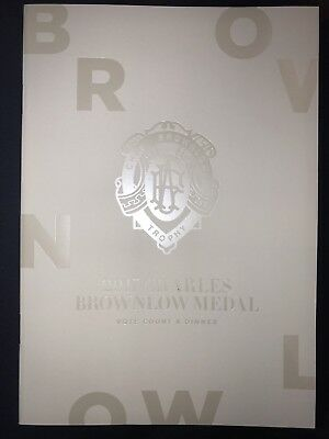 2017 Afl Dustin Dusty Martin Brownlow Menu Richmond Tigers Premiers