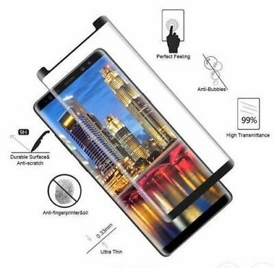 Samsung S8 S9 Plus Note 8 9 S7 Edge Screen Protector Tempered Glass CASE FRIENDL