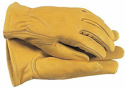 Town & Country Mens Premium Leather Gardening Gloves Size Large TGL408L