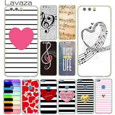 Slim Music Phone Case Cover For Huawei P20 P10 P8 Lite Smart Mate 10 Pro N3367