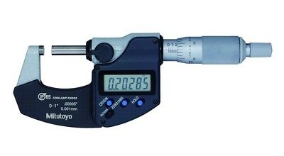 """Mitutoyo 293-340-30 Digimatic Outside Micrometer, 0-1"""""""