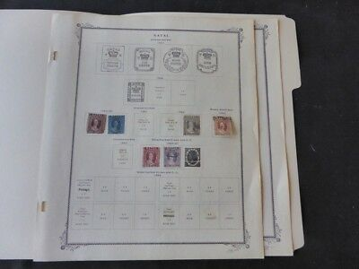 Natal 1859-1879 Mint/Used Stamp Collection on Scott Specialty Album Pages