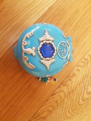 """Vintage 90's """"Jewel""""  Under the Sea Polly Pocket with figure rare"""