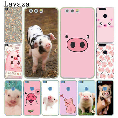 Cute Pig Phone Case Cover For Huawei P20 P10 P8 Lite Smart Mate 10 Pro N3332