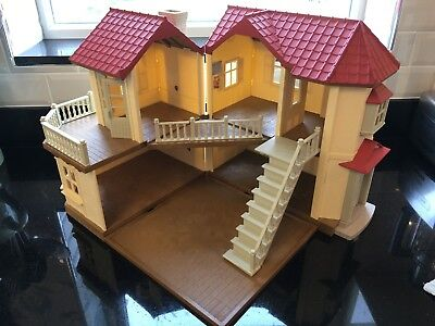 Sylvanian Families Beechwood Hall - House - Excellent Cond. - Complete & Working