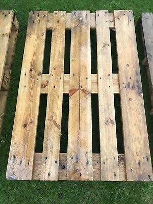 3 Wooden Pallets (used) In Good Condition