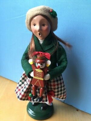 "Byers Choice 2005 THE CAROLER Victorian Girl ""Child with Toy"" SIGNED 31/100?"