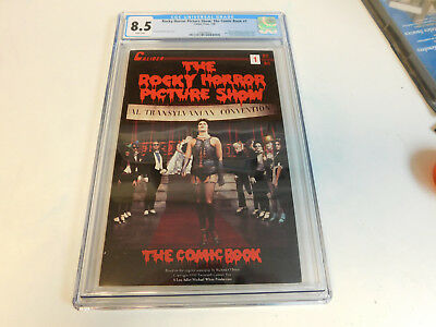 Rocky Horror Picture Show The Comic Book 1A 1990 CGC 8.5