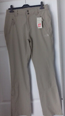 New The North Face Women's Trekker Classic Pant - 28W Regular - Dune Beige