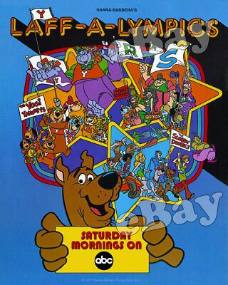 Rare! SCOOBY DOO LAFF A LYMPICS Cartoon Color TV Photo HANNA BARBERA Studios