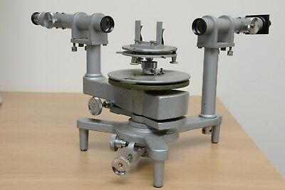 Philip Harris Advance Spectroscope with diffraction grating and holder