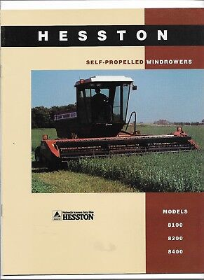 OLD HESSTON 420 Windrower Brochure - $24 99 | PicClick